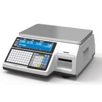 Весы с печатью этикетки CAS CL-3000-15B