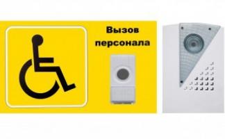 """Система вызова для инвалидов (Программа """"Доступная среда"""") - Комплект №9"""