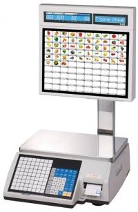 Весы с печатью этикетки CAS CL-5000J-15IS Ethernet