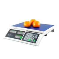 Весы торговые M-ER 326 AC -32.5 с АКБ без стойки LCD Slim